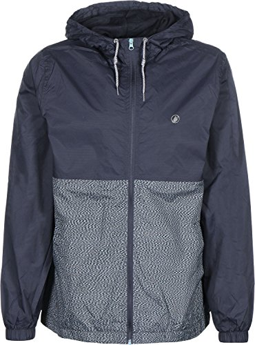Volcom Ermont Veste Homme, Marine, FR Small (Taille Fabricant : S)