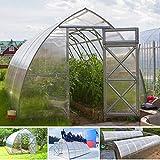 gazebiprofessionali.com Invernadero túnel de 3 x 8 m de policarbonato de 6 mm...