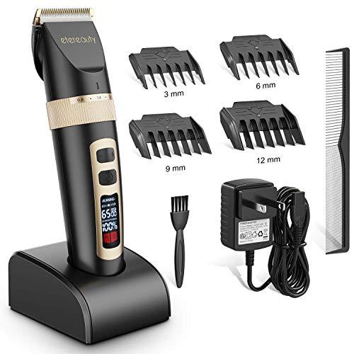 Haarschneidemaschine, Profi Haarschneider Männer Haarschneidemaschine Mit Titankeramikklinge, Bartschneider Haartrimmer Barttrimmer Für Herren