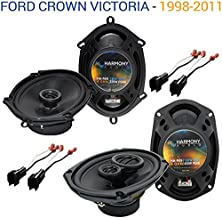 Compatible with Ford Crown Victoria 1998-2011 Speaker Upgrade Harmony R68 R69 Package New