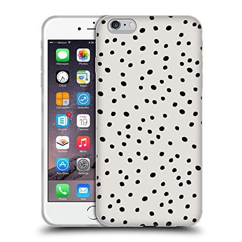 Head Case Designs Licenciado Oficialmente KookiePixel Lunares de Muy Buen Gusto Patrones 2 Carcasa de Gel de Silicona Compatible con Apple iPhone 6 Plus/iPhone 6s Plus