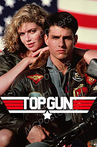 MCPosters - Top Gun Glossy Finish Movie Poster - MCP691 (24' x 36' (61cm x 91.5cm))