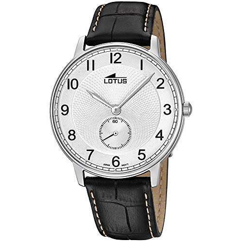 Lotus Reloj Analógico para Hombre de Cuarzo con Correa en Cuero 10134/A