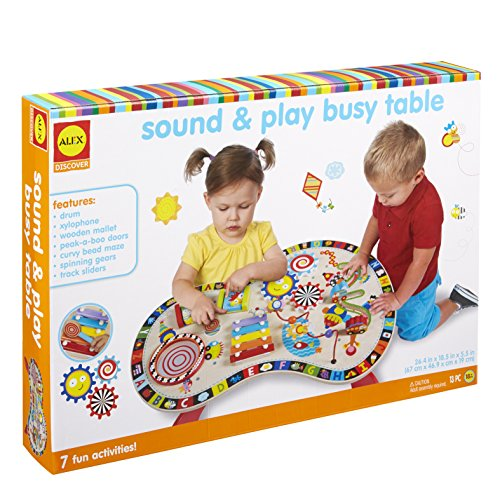 Alex Discover Sound and Play Busy Table Kids Art and Craft Activity