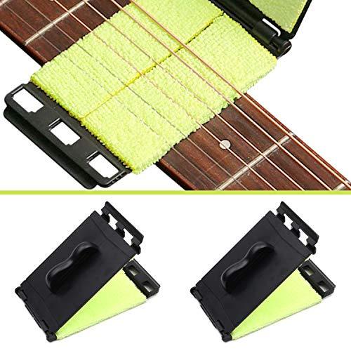 Limpiador de Cuerdas Para Guitarra, Limpiador de cuerdas de