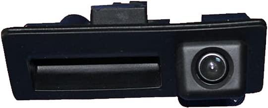 Navinio Trunk Handle Vehicle-Specific Camera Integrated into Case Handle Rear View Camera VW Tiguan Touareg Passat Golf VI Variant Audi A4 Q3 A3 A6L A8 (Model 01578= 110x48 mm)
