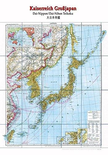 Historische Landkarte: Kaiserreich GROSSJAPAN [Japan], um 1920 [plano]
