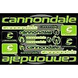 Cannondaleデカールステッカー自転車フレーム交換用グラフィックセット# 3