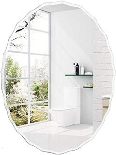 Light up Life/Wall Mounted Ovalada Espejo sin Marco de Espejo Tapiz de Vestir Espejo Decorativo Espejos for baños s apar...