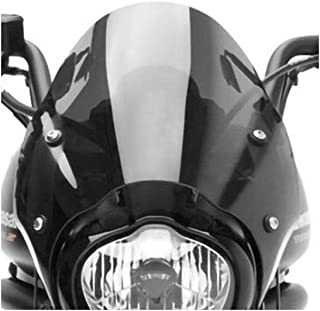 Genuine Kawasaki Accessories 15-18 Kawasaki EN650S Fixed Cafe Deflector (Black Smoke)