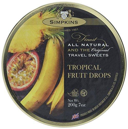 Simpkins Tropical Fruit Drops 200g, 3er Pack (3 x 200 g)