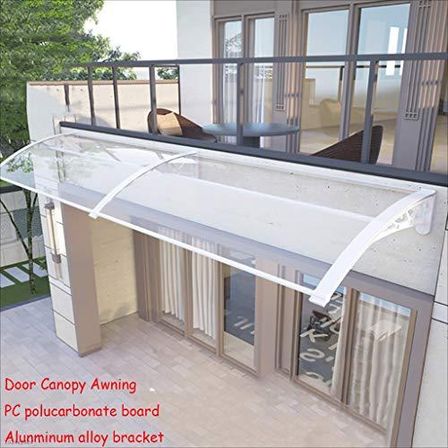 Lw luifels deur luifel luifel, deur luifel PC polycarbonaat luifel regen Shelter deur luifel luifel raam regen Shelter cover voor voordeur veranda 60×240cm