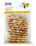 Boots & Barkley Chicken Wrapped Rawhide Twists - 45 Count Bag