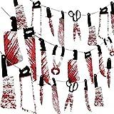 32PCS Halloween Bloody Garland Banner Props...