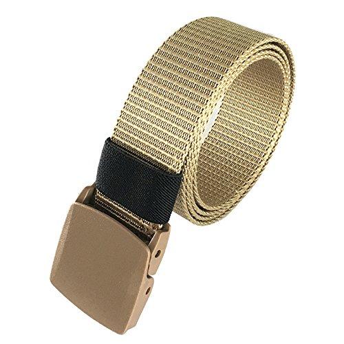 LanLan Geschenk für Mädchen, 125 Zentimeter Gürtel, aus Nylon mit Druckknopfverschluss, taktisches Armband, Mens Gürtel, Militärgürtel, Gürtel, Bauchgurt