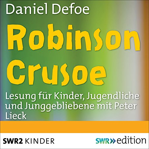 Robinson Crusoe [German Edition] cover art