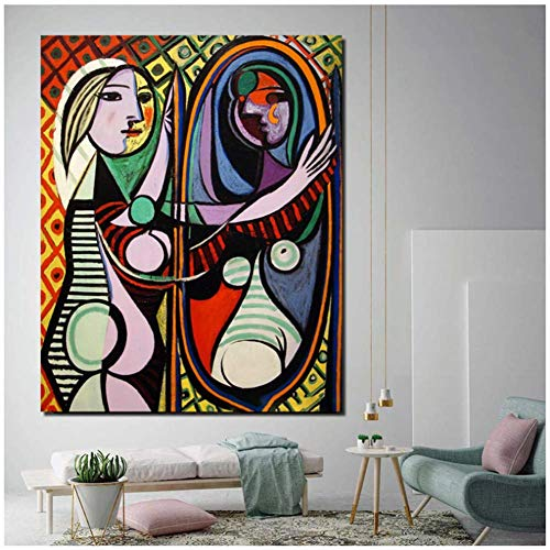 Picasso New York City Wall Art Canvas Painting Posters Impre