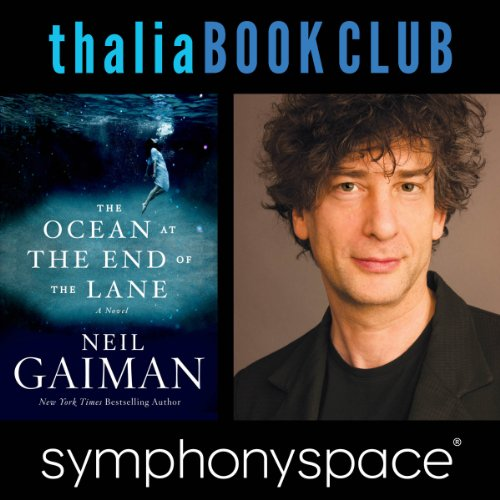 Thalia Book Club: Neil Gaiman, The Ocean at the End of the Lane audiobook cover art