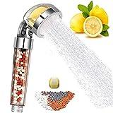 talifiy Shower Head, Ionic Filter Filtration High Pressure Water Saving Spray Handheld Showerheads