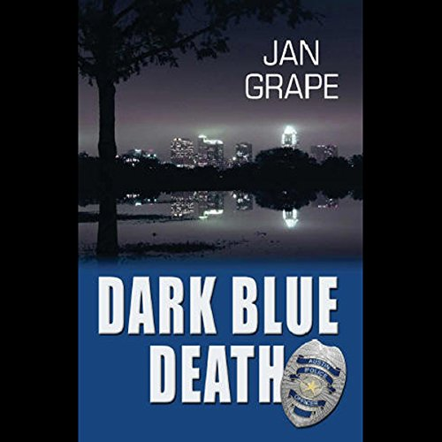 Dark Blue Death audiobook cover art