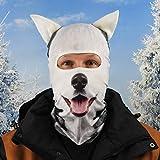 Beardo Original HD - Pasamontañas para esquí, protección contra el frío, protección Facial, pasamontañas