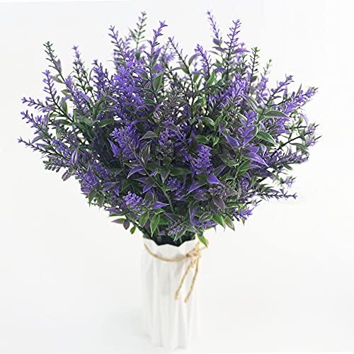 Künstliche Lavendel Blumen Deko,8 Pcs...