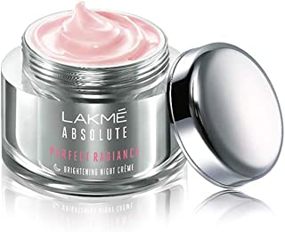Lakme Absolute Perfect Radiance Skin lightening/Brightening Night Creme 50 g