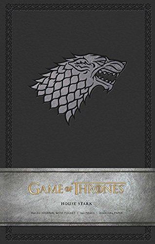 Game of Thrones: House Stark Hardcover Ruled Journal