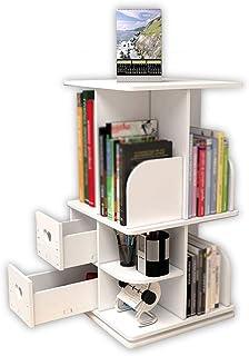 Bai Su BS Estantería, estantes creativos para mesas giratorias, Escritorio pequeño sobre una Mesa Simple, Estante para Rack de Almacenamiento de Escritorio Soporte de exhibición