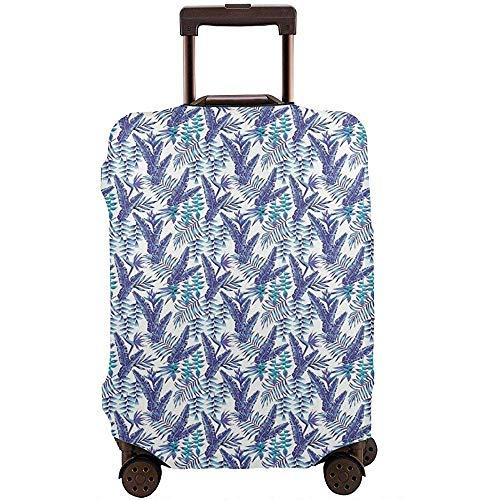 Portabagagli da viaggio Piante estive artistiche Volantini e fiori Protezione delle valigie Hawaiian Nature Taglia L
