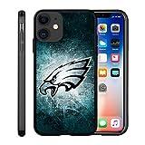 Custom Phone Case for iPhone 6 Plus/6s Plus Eagle Flexible Slim Soft TPU Philadelphia Phone Case Scratch-Resistant Shockproof Protective Anti-Slip Back Cover