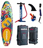 Mistral Limbo 10'5 Superlight Woven-Fusion Layer Technology, Stand Up Paddel Board SUP inflable, incluye SUPwave.de Coil-Leash Stand Up Paddle Board iSUP
