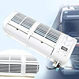 DIFU KDHARMR Universal Wall-Mounted Car Air Conditioner Fan Cooling Evaporator Kit for Car Bus Truck 12V 200W(US Stock)