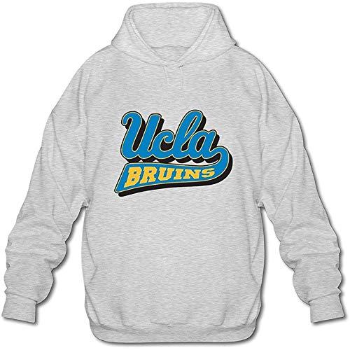 Men's NCAA UCLA Bruins Hoodies Sweatshirt Swag Ash