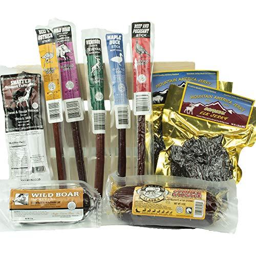Exotic Jerky & Sausage Sampler Crate