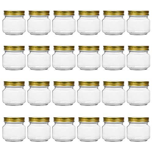 Tebery Lot de 24 Mason Glass Pot...