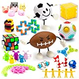 TAFULOR Sensory Fidget Toys Set, Fidgeting Toys 30 Packs, Sensory Bundle Toys for ADHD Autism Babies Kids Teens Adults, Stress Relief and Anti-Anxiety Toys