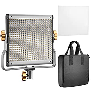 Neewer 2 Pack Dimmable Bi-Color 480 LED Video Light and Stand Lighting Kit Includes: 3200-5600K CRI 96+ LED Panel with U Bracket, 78.7 inches Light Stand for YouTube Studio Photography Video Shooting (B07DWX22J3) | Amazon price tracker / tracking, Amazon price history charts, Amazon price watches, Amazon price drop alerts
