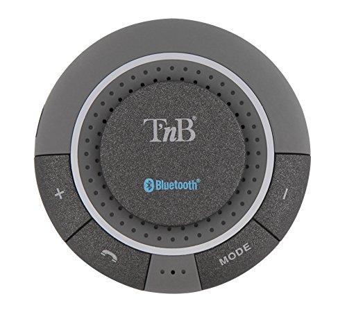 T'nB CARBTKIT1 Bluetooth Manos Libres para el Silver Smartphone