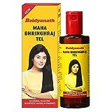 Baidyanath Mahabhringraj Tel - Ayurvedic Hair Oil, No Added Chemicals or Fragrance
