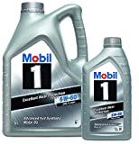 Mobil 1 Aceite Motor FS x1 5W-50 - Pack 6 LTS Advanced Full Synthetic (Nueva Fórmula Mejorada)