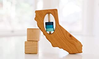 California State Wooden Baby Rattle ™
