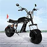 MRMRMNR 1000W Scooter Electrico Bicicleta Paseo Electrica para Adultos, Vehículo Eléctrico Todoterreno para Hombre Y Mujer, 60V12A Bicis Montaña Baratas, Neumático Grande, 150KG De Carga