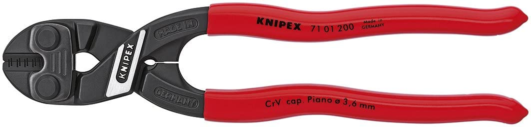 KNIPEX Houston Mall - 71 01 200 Tools Bolt Cutter Compact 7101200 CoBolt Excellence