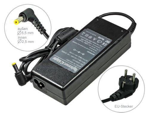 Notebook Netzteil AC Adapter Ladegerät für Packard Bell Easy-Note TK36 TK37 TK81 TK83 TK85 TK85-GN-008GE TK85-JN-018GE TK85-JO-049GE TK87 TM01 TM05 TM05-JN-072GE TM80 TM81 TM82 TM83 TM86 TM87 TM89 .