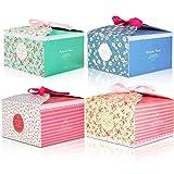 12pcs Cajas de regalo MOOKLIN Caja de dulces Caja de papel de galletas para la...