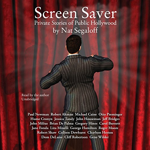 Screen Saver audiobook cover art