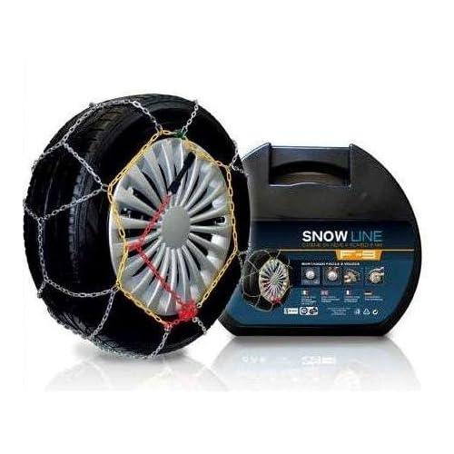 Catene da Neve Power Grip 9mm Omologate Gruppo 65 per pneumatici 205//45r16