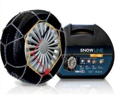Hangzhou Huafeng Chain Co. Ltd - Cadenas de nieve de 9 mm - Grupo 140 - Homologadas O-Norm V5117 - Diseño de rombo