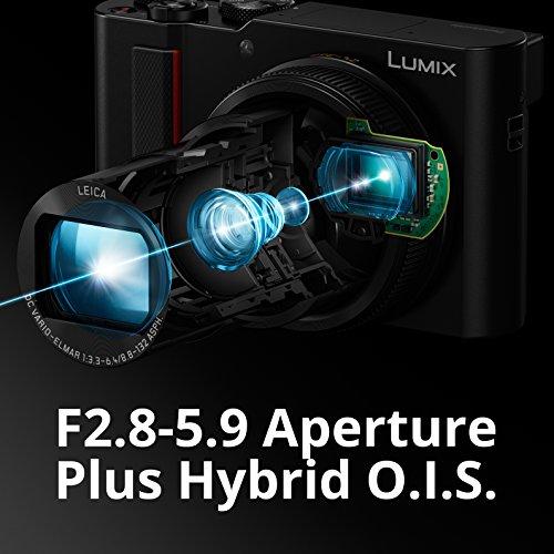 PANASONIC LUMIX ZS200 15X Leica DC Lens with Stabilization, 20.1 Megapixel, Large 1...